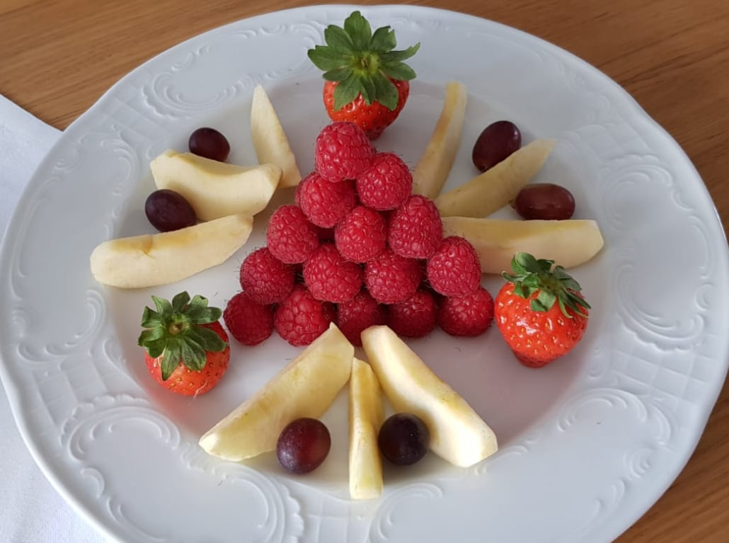 Zur Krone Gottenheim Obstteller