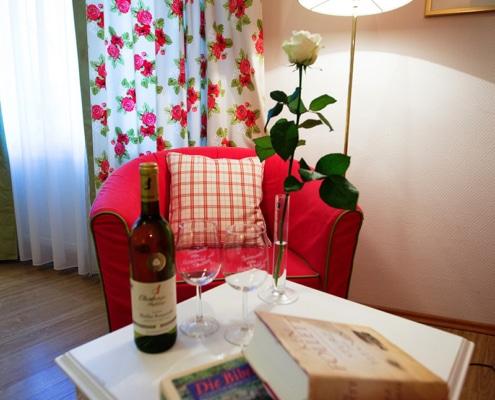 Zur Krone Gottenheim Komfortzimmer Detail