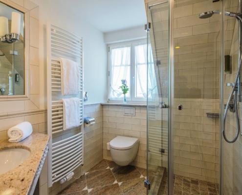 Zur Krone Gottenheim Badezimmer Premium-Zimmer