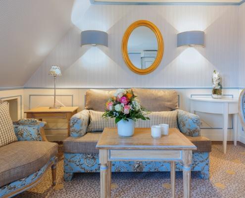 Zur Krone Gottenheim Junior-Suite Wohnbereich