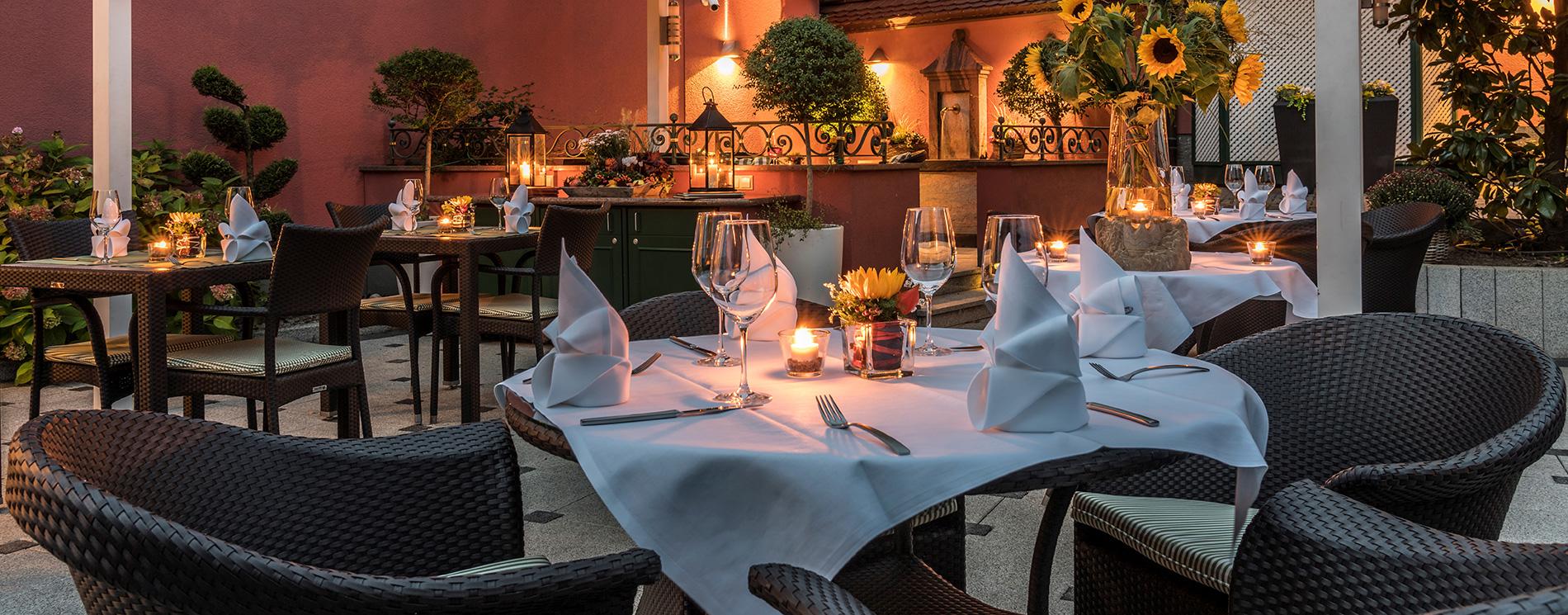 Restaurant-Terrasse Gasthaus Zur Krone
